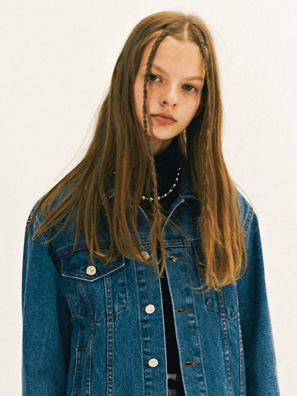 TRUCKER JACKET GA [BLUE]