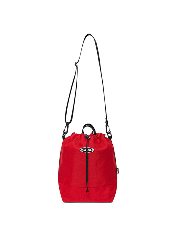KIRSH POCKET SMALL BUCKET BAG HS [RED]