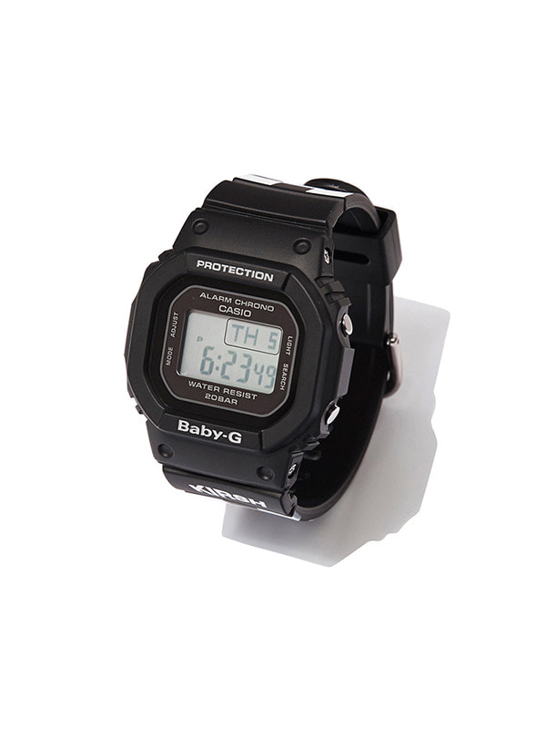 KIRSH x BABY-G BGD-500 [CHECK BLACK]