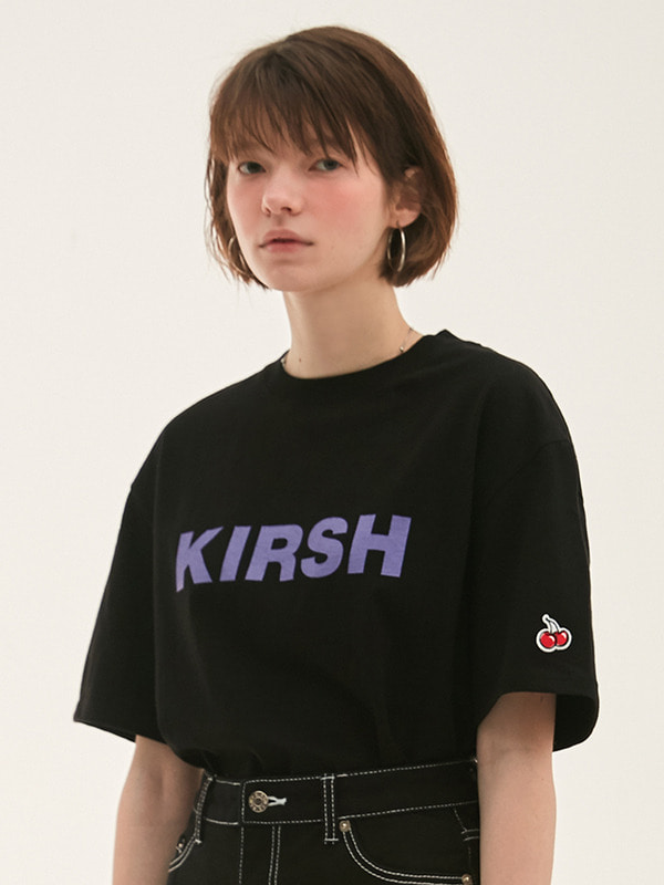 KIRSH LOGO T-SHIRT HS [BLACK]