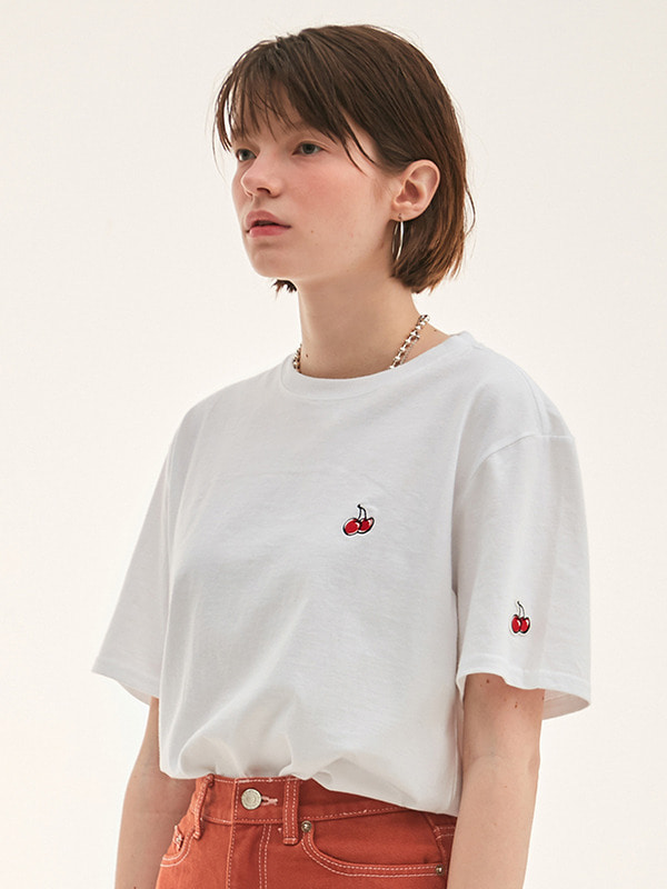 KIRSH STANDARD T-SHIRT HS [WHITE]