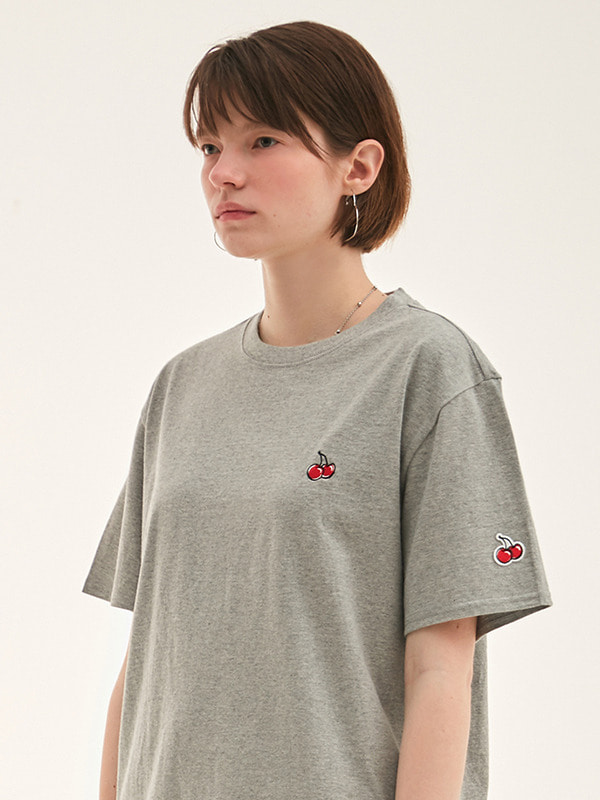 KIRSH STANDARD T-SHIRT HS [GRAY]