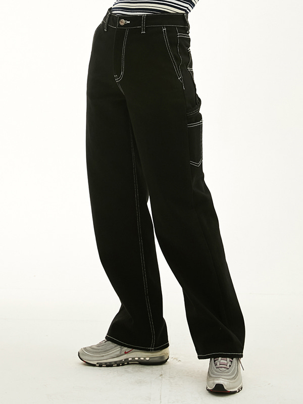 CARPENTER PANTS HS [BLACK]