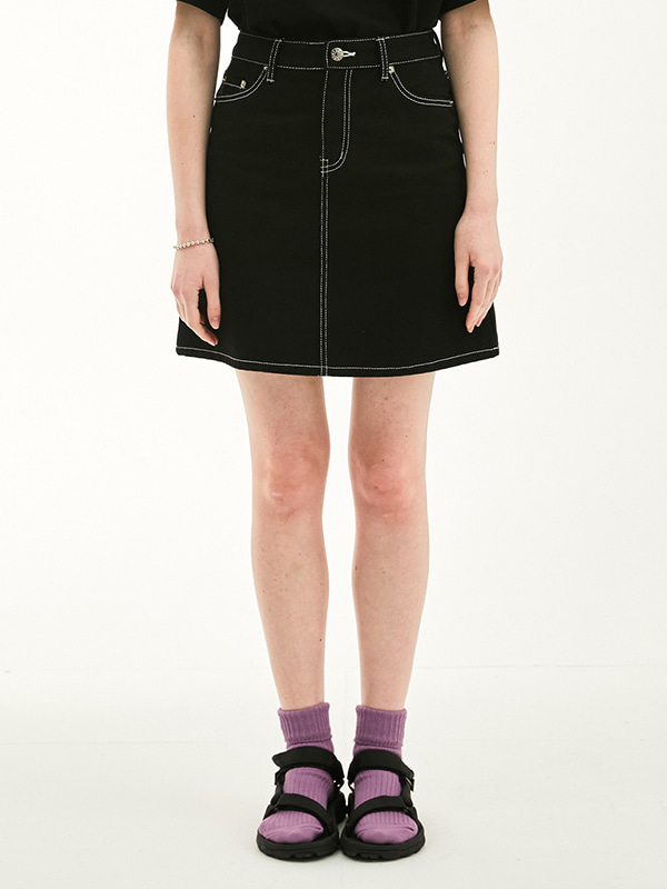 CARPENTER SKIRT HS [BLACK]