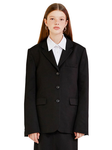 TAILORED JACKET HA [BLACK]