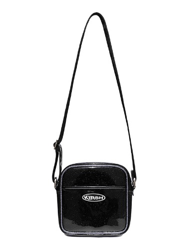 KIRSH POCKET GLITTER MINI AIRLINE BAG IS [BLACK]