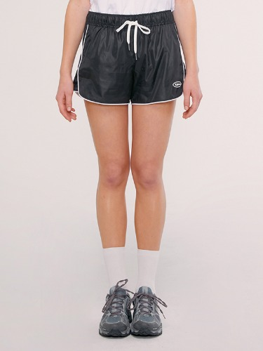 TRACK SHORT IS [BLACK]
