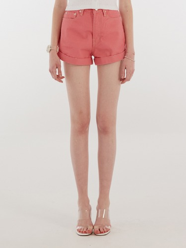 ROLLUP SHORT PANTS IH [PINK]
