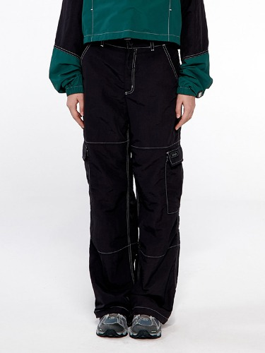 POCKET STRING PANTS IA [BLACK]
