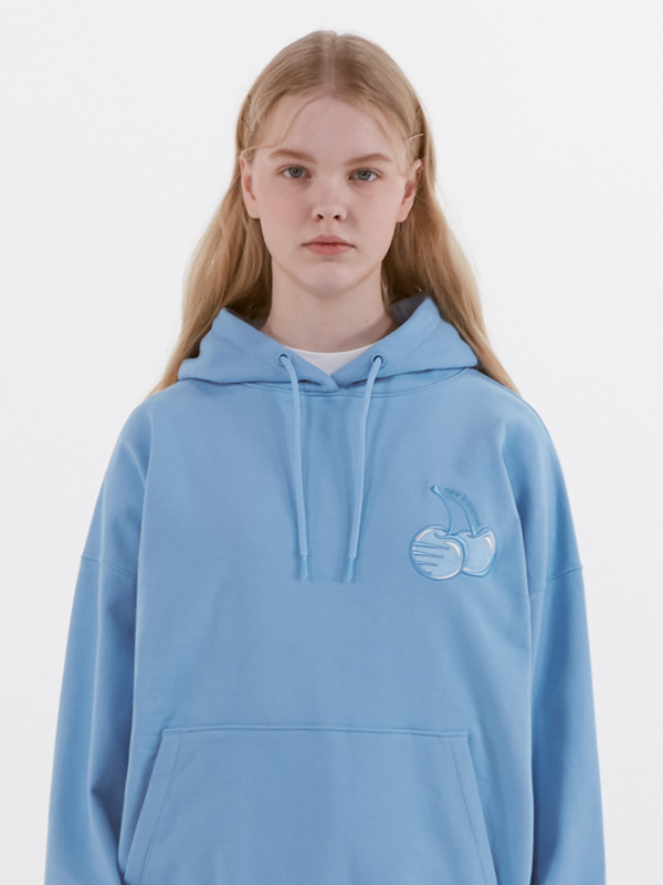 KIRSH X NB HOODIE [LIGHT BLUE]