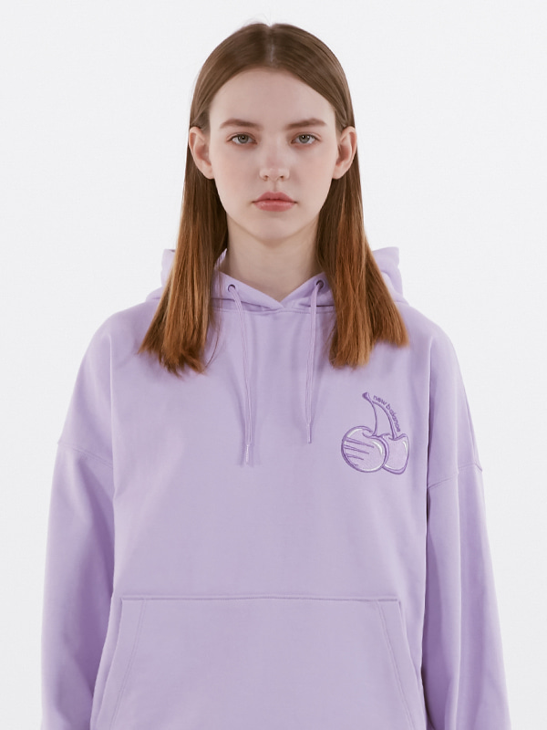 KIRSH X NB HOODIE [LIGHT PURPLE]