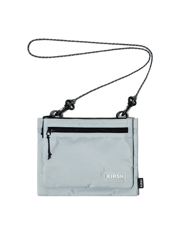 KIRSH POCKET 2-WAY SACOCHE BAG JH [GRAY]