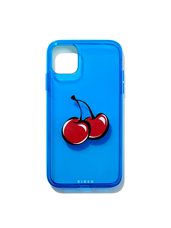 COLOR CLEAR IPHONE CASE JH [BLUE]