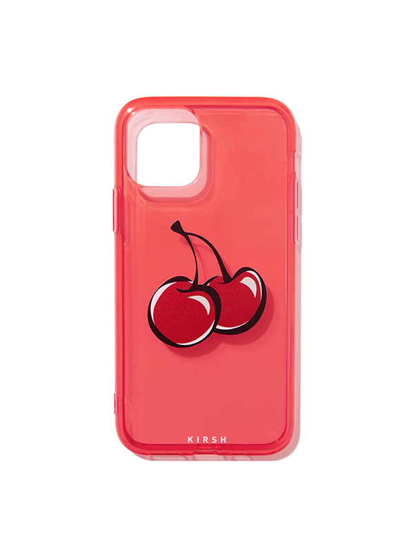 COLOR CLEAR IPHONE CASE JH [RED]