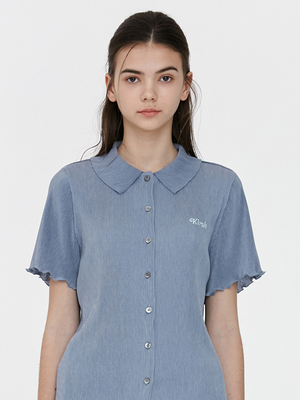 KIRSH WRINKLE SHIRTS JH [LIGHT BLUE]