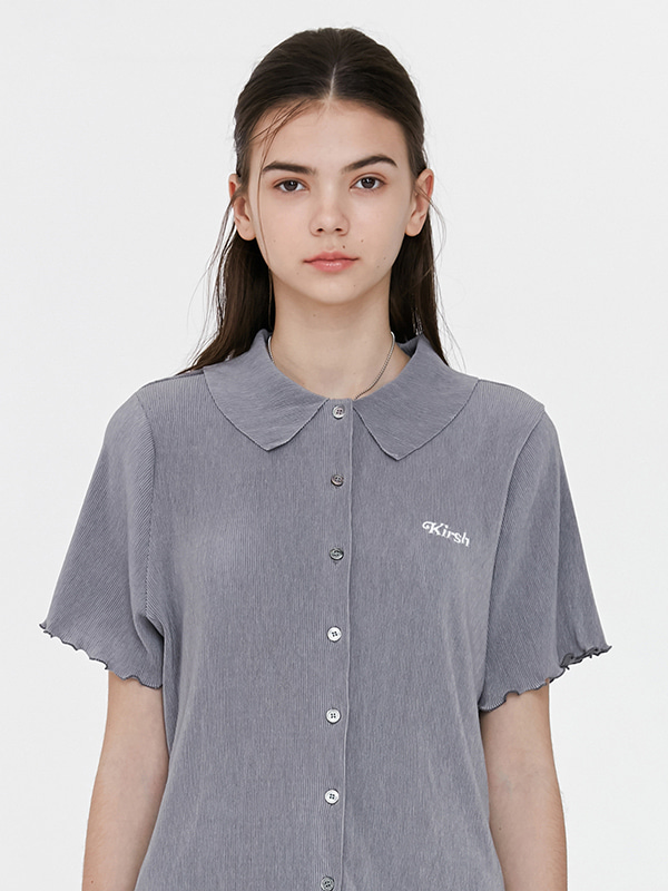 KIRSH WRINKLE SHIRTS JH [GRAY]