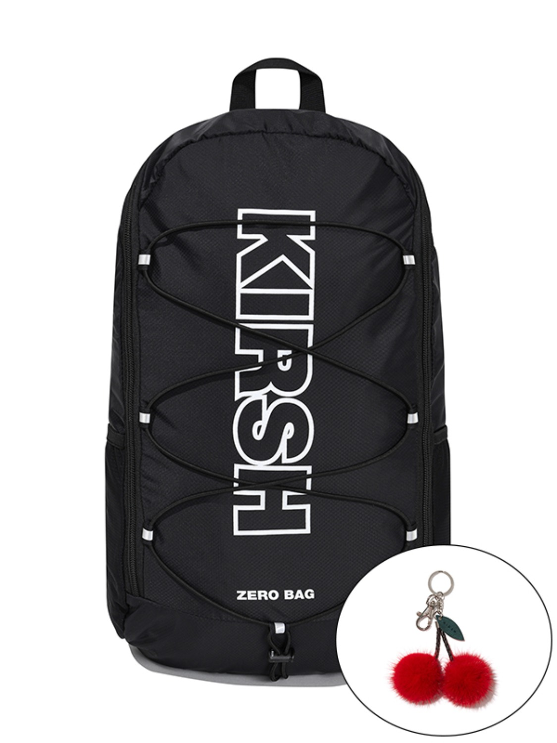 KIRSH POCKET ZERO BAG JA [BLACK]