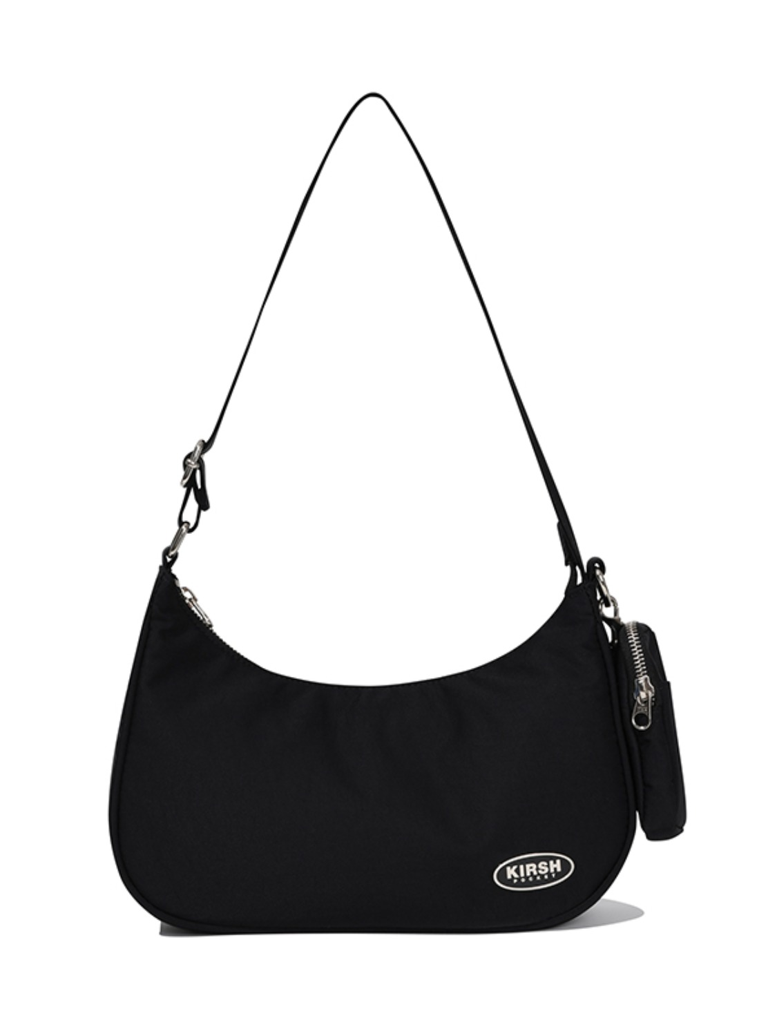 KIRSH POCKET PIPING MINI SHOULDER BAG JA [BLACK]