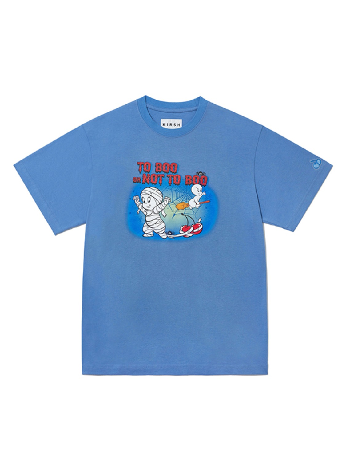 CASPER GRAPHIC T-SHIRT JA [LIGHT BLUE]