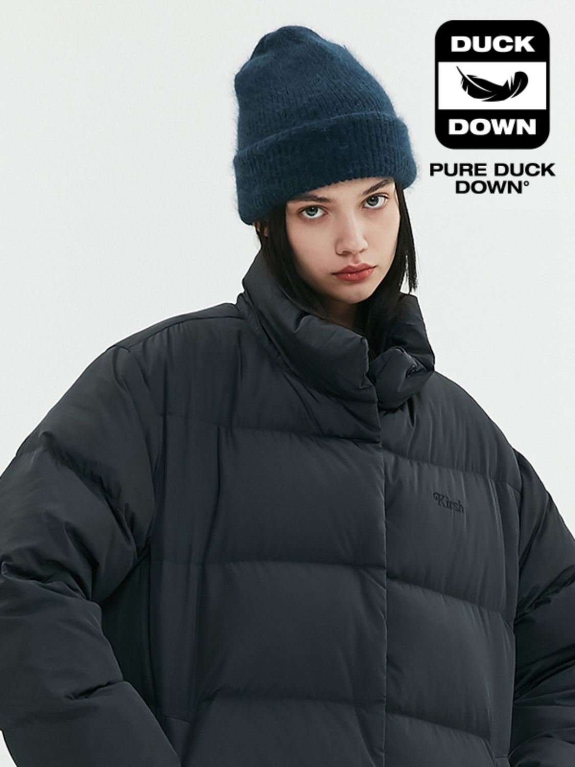 OVERSIZED DOWN PADDING JA [BLACK]