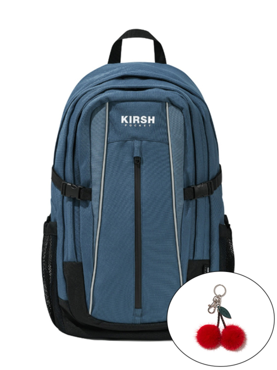 KIRSH POCKET PIPING BACKPACK KS [INDIGO BLUE]