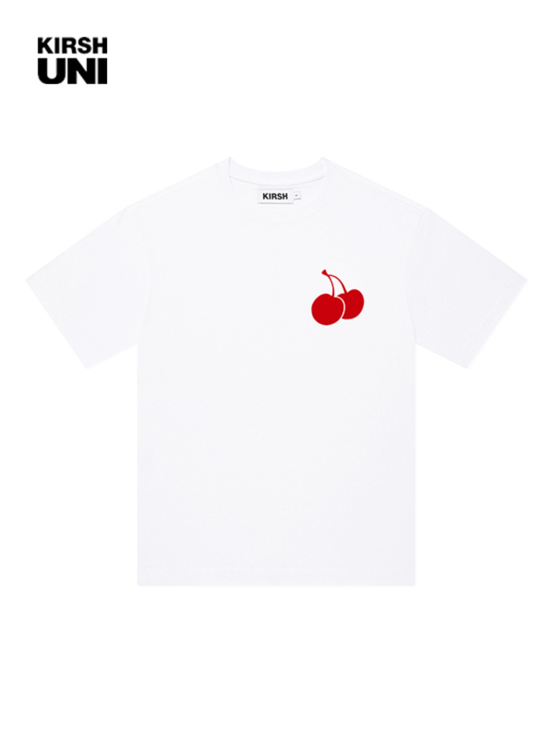UNI MIDDLE CHERRY T-SHIRT KH [WHITE] / 송강 포토카드 증정