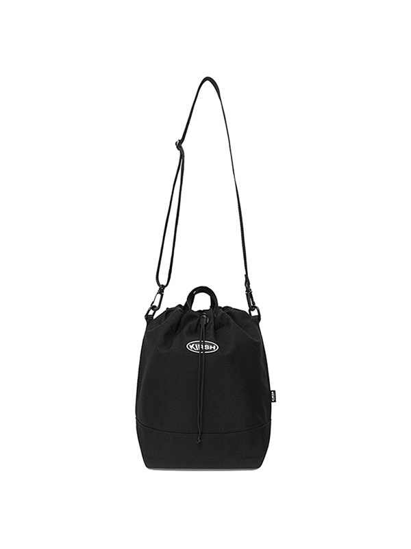 KIRSH POCKET SMALL BUCKET BAG HS [BLACK]