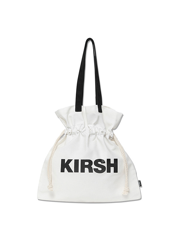 KIRSH POCKET BIG BUCKET BAG HS [WHITE]