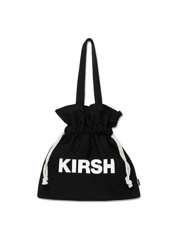 KIRSH POCKET BIG BUCKET BAG HS [BLACK]