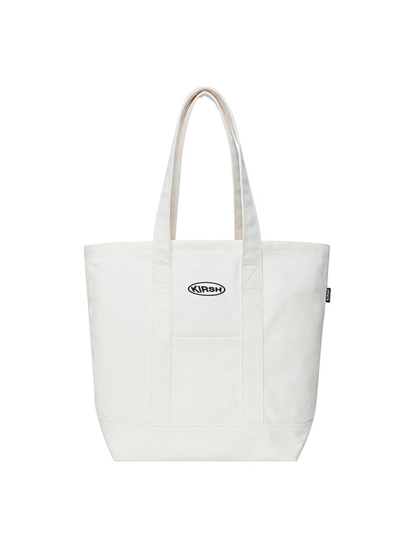 KIRSH POCKET TOTE BAG HS [WHITE]
