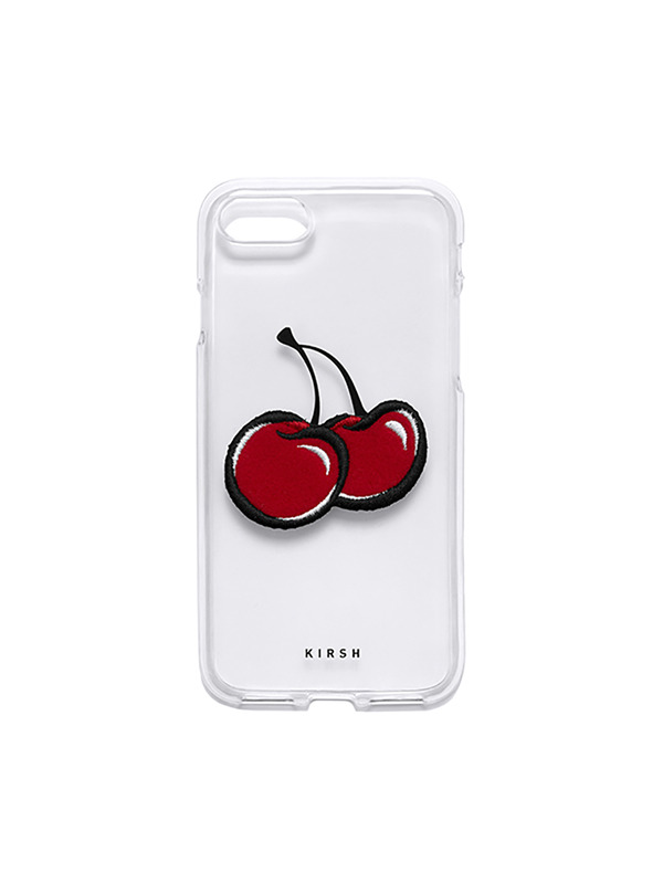 BIG CHERRY PHONE CASE HS [CLEAR]
