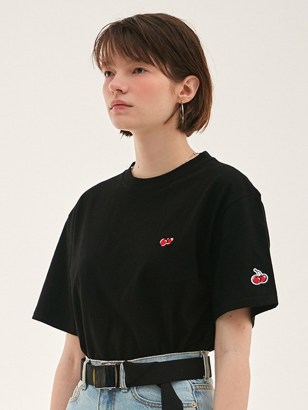 KIRSH STANDARD T-SHIRT HS [BLACK]