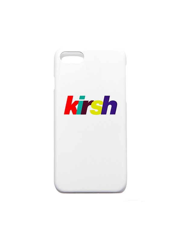 RAINBOW LOGO PHONE CASE HS [WHITE]