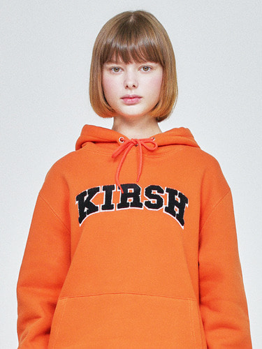 (10월 5일 예약배송)KIRSH ARCH LOGO HOODIE HA [ORANGE]
