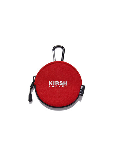 (10월 5일 예약배송)KIRSH POCKET COIN WALLET HA [RED]