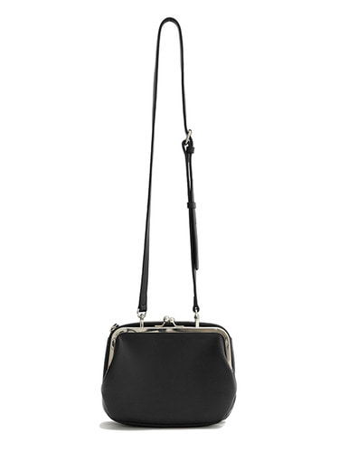 FRAME LEATHER BAG HA [BLACK]