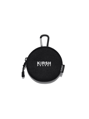 (10월 5일 예약배송)KIRSH POCKET COIN WALLET HA [BLACK]