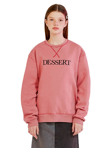 DESSERT STITCH SWEATSHIRT HA [PINK]