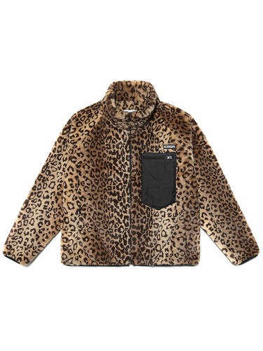 LEOPARD FLEECE JACKET HA [LEOPARD]