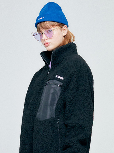 FLEECE JACKET HA [BLACK]