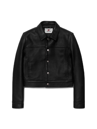 VIVASTUDIO x KIRSH LEATHER JACKET HA [BLACK]