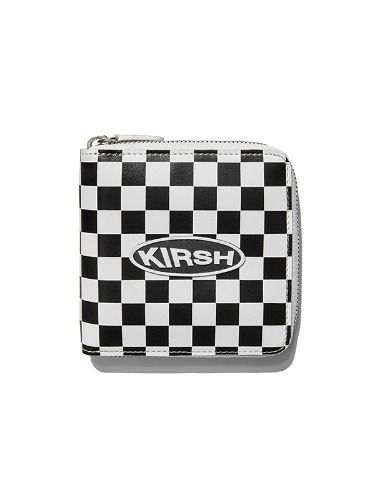 KIRSH POCKET  CIRCLE LOGO HALF  WALLET  IS [WHITE]