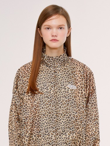 TRACK JACKET IS [LEOPARD]
