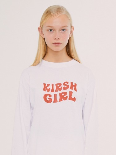 KIRSH GIRL LOGO TEE IS [WHITE]