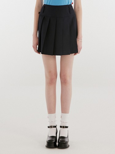 TENNIS SKIRT IH [NAVY]