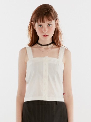 LACE BUSTIER IH [WHITE]