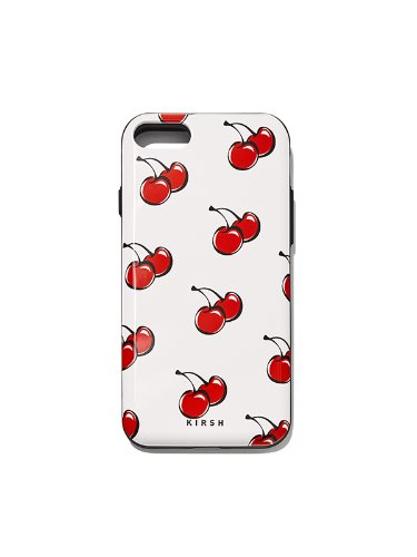 CHERRY BUMPER PHONE CASE IH [WHITE]