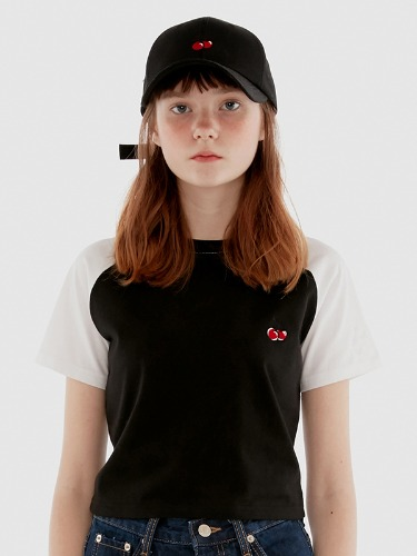 LAGLAN T-SHIRT IH [BLACK]