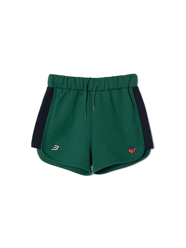 [BPS X KIRSH] DOLPHIN PANTS [GREEN]