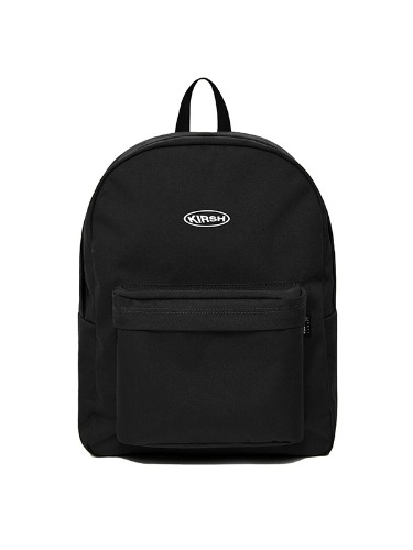 KIRSH POCKET CIRCLE LOGO BACKPACK IA [BLACK]